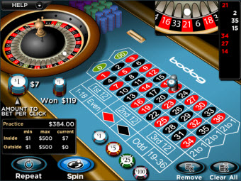 Bodog also offers roulette, blackjack, video poker, slots, and more