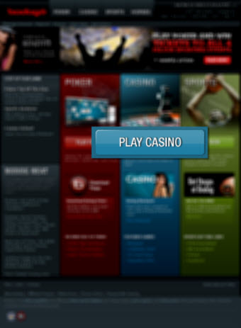 Bodog Casino Homepage