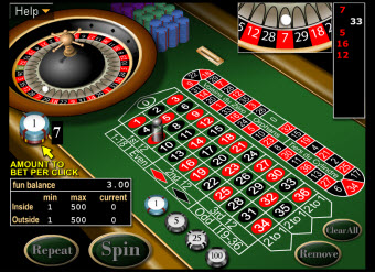 Lock Casino roulette game